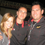 Formula Drift co-hosts on ESPN2
