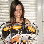 Head racquets galore!