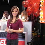 On-set of MTV's Axe Hair Crisis Relief Telethon